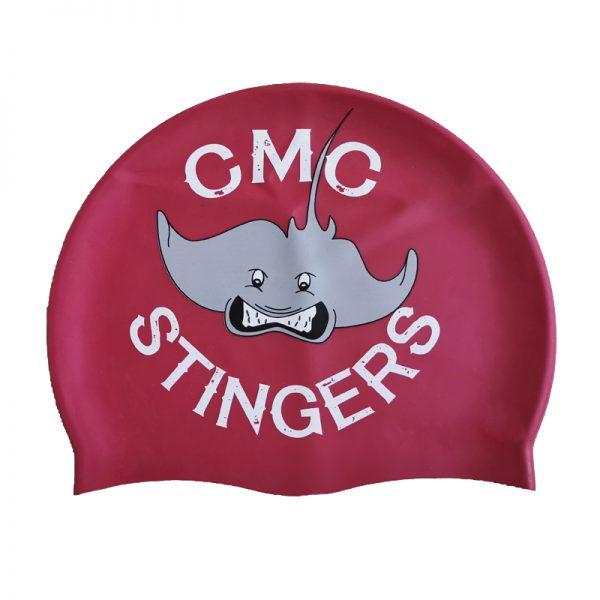 custom print swim cap