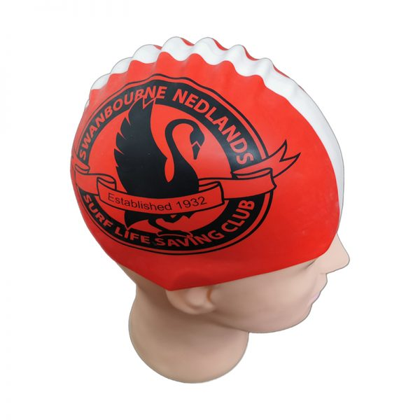 custom seamless swim cap