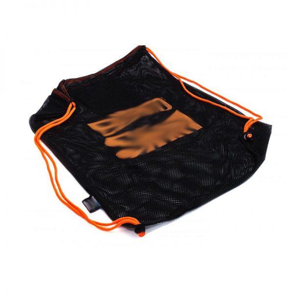 drawstring mesh swim backpack