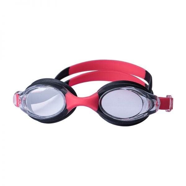 kids silicone swim goggles black