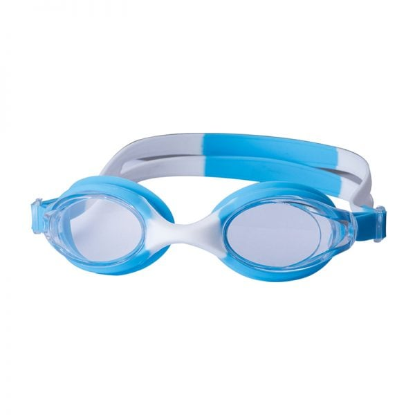 kids silicone swim goggles blue
