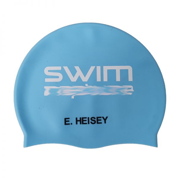 named swim cap