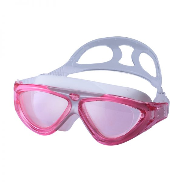 open water swim goggles mask pink