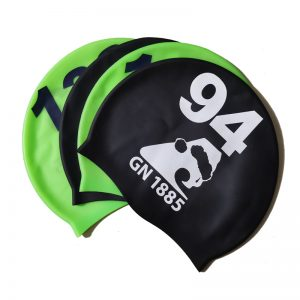 print numbers swim cap main