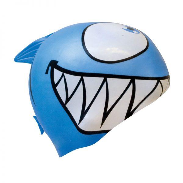 shark swim cap
