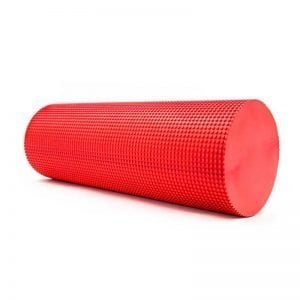 red EVA foam roller