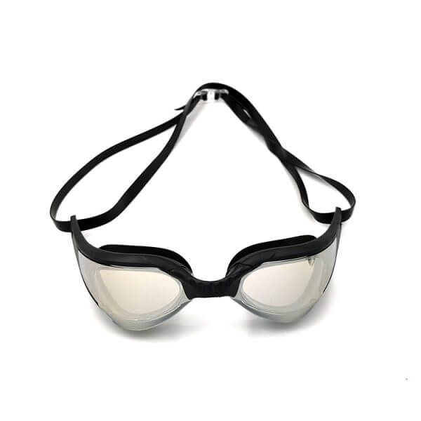Black Mirrored Swim Goggles
