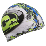heat transfer print swim cap