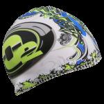 heat transfer print swim cap