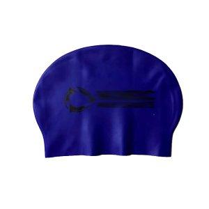 navy blue latex cap