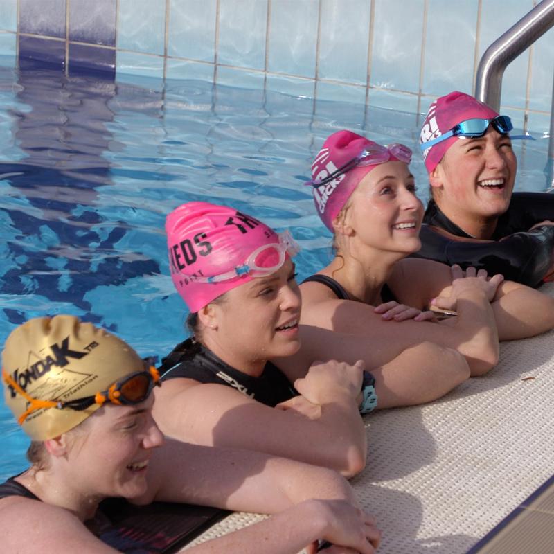 choose team swim cap